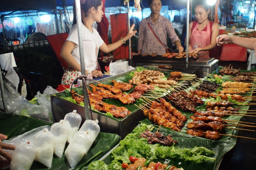 hawker stand